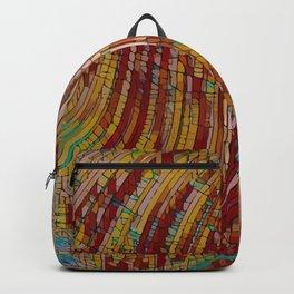 Too Wavy V04 - Rust Backpack