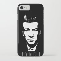 david lynch iPhone & iPod Cases featuring [Lynch] by Mathias Rat