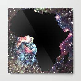 Galaxy Nebula Africa Metal Print