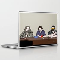 the big lebowski Laptop & iPad Skins featuring The Big Lebowski by Josh Ross Illustration