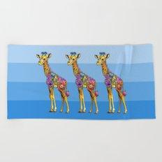 Triplets Beach Towel