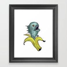 piranha banana Framed Art Print