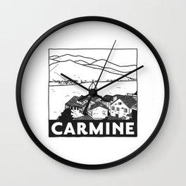 Carmine, Lago Maggiore, Italy Wall Clock