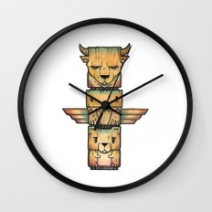 The Legends Wall Clock