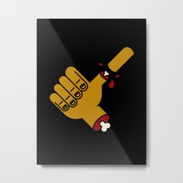Thumbs Up Great Job Metal Print