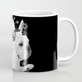Flower Goddess Frenchie Coffee Mug