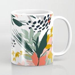 Botanical brush strokes I Coffee Mug