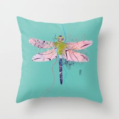 Dragonfly01 Throw Pillow