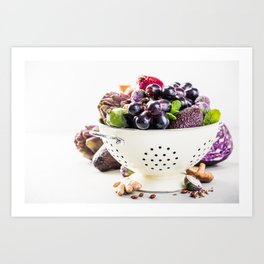 healthy food Art Print