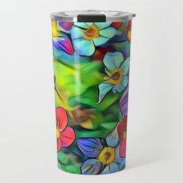 Amazing Floral 29B Travel Mug