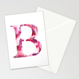 Letterforms B : Bea Stationery Cards