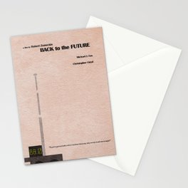 Back to the Future Stationery Cards