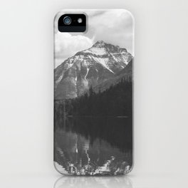 Peace At Lake McDonald  iPhone Case