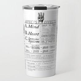 stress (n) Travel Mug