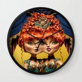 Amelia & Cordela Wall Clock