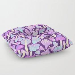 Spooky Mushroom Hunt Floor Pillow