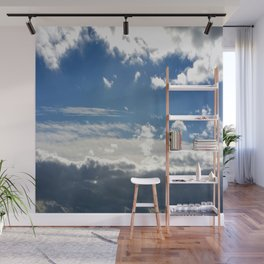 Windy Day Sky Wall Mural