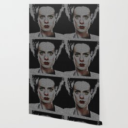 The Bride of Frankenstein Screenplay Print Wallpaper