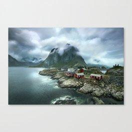Lofoten Landscape - Norway Canvas Print