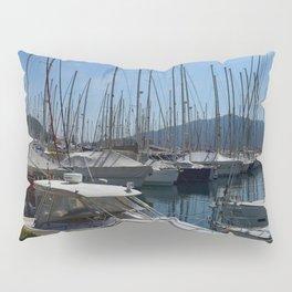 Netsel Yacht Marina Marmaris Turkey Pillow Sham