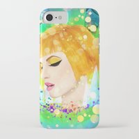 hayley williams iPhone & iPod Cases featuring Digital Painting - Hayley Williams by EmmaNixon92