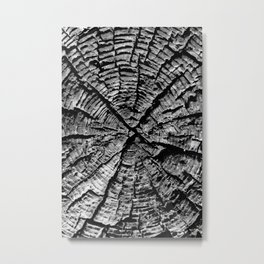 The X Metal Print