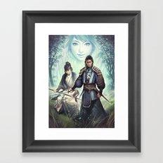 Geister Framed Art Print