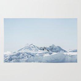 wall of ice Rug