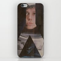 alien iPhone & iPod Skins featuring Alien by JAGraphic