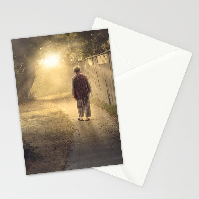 """""""It's time,"""" he said. Stationery Cards"""