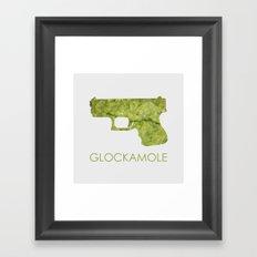 Glockamole Framed Art Print