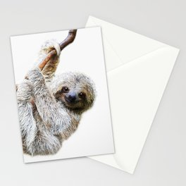 Sloth Stationery Cards