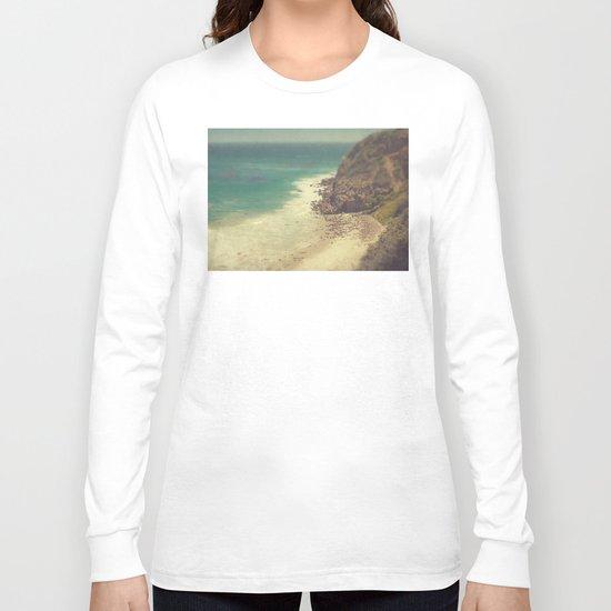 Vintage Malibu Beach Long Sleeve T-shirt