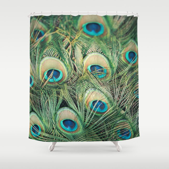 Loads Of Feathers Shower Curtain