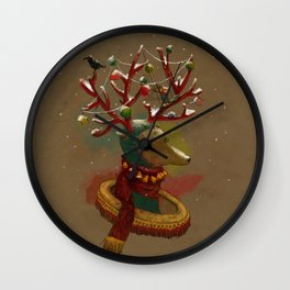 January-New year Wall Clock