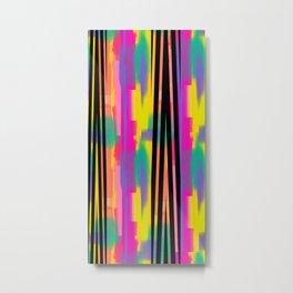 Zig Paint Metal Print