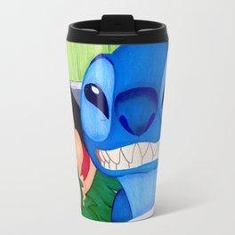 Lilo & Stitch Selfie Travel Mug