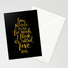 It's Called Love  Stationery Cards