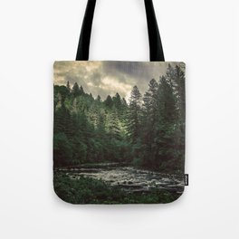 Pacific Northwest River - Nature Photography Tote Bag