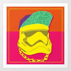 Fresh Trooper Art Print