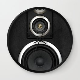 Loudspeaker Wall Clock