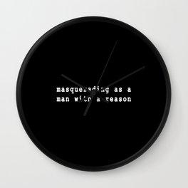 My Wayward Son Wall Clock