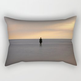 Silent Expectation Rectangular Pillow
