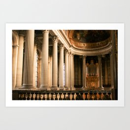 Versailles Palace Chapelle Art Print