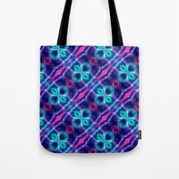 neon Tote Bags featuring Neon by GypsYonic
