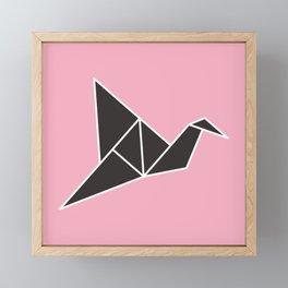 Origami Framed Mini Art Print