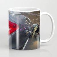 mercedes Mugs featuring Mercedes-Benz C 180 Coupé Sport by Mauricio Santana