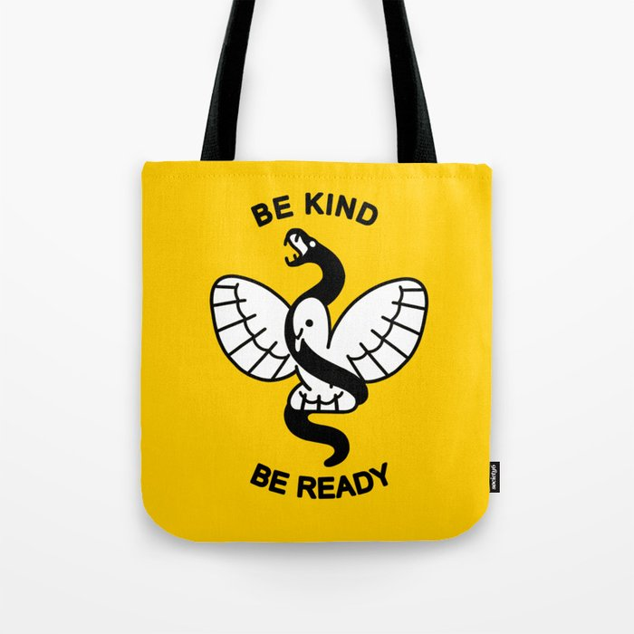 Be Kind, Be Ready Tote Bag