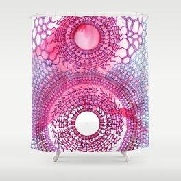 Tea/Heartstrings Shower Curtain