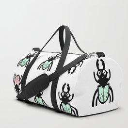 Stag Beetle Pattern Duffle Bag
